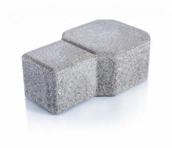 Bloque de cemento Adoquín Decor de 8 cm. de espesor