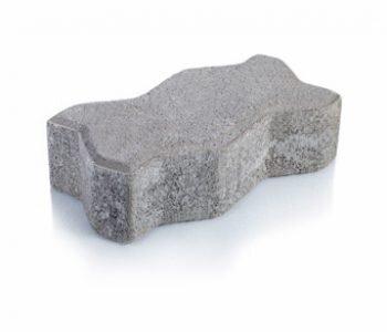 Bloque de cemento Adoquín Uni de 6 cm. de espesor