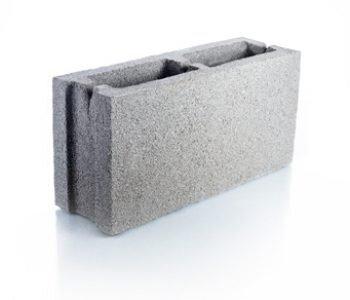 Bloque de cemento para muro de 13 cm de espesor