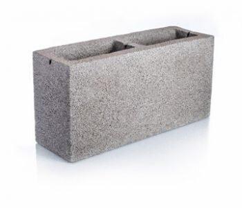 Bloque de cemento visto para muro de 13 cm de espesor